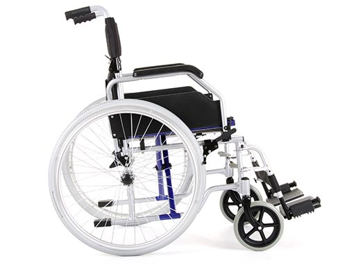 Airglide self propelled wheelchair side image