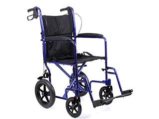 Aluminium Travel Plus Wheelchair