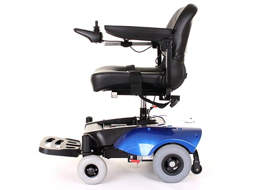 Easi Go Electric Wheelchair side image