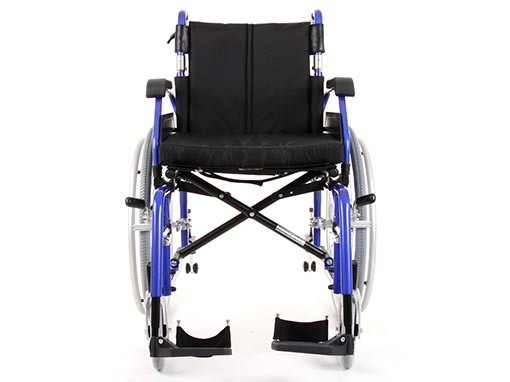 Enigma XS Bariatric Wheelchair front