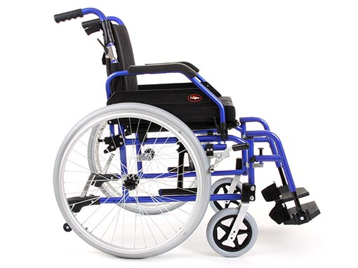 Enigma XS Bariatric Wheelchair side