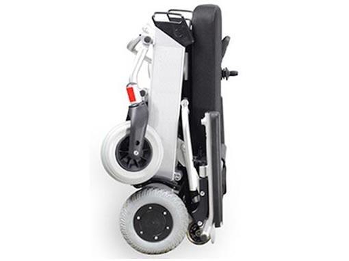 Foldawheel Electric Wheelchair side image
