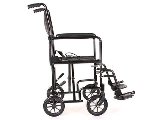 Freedom Transit Wheelchair side image