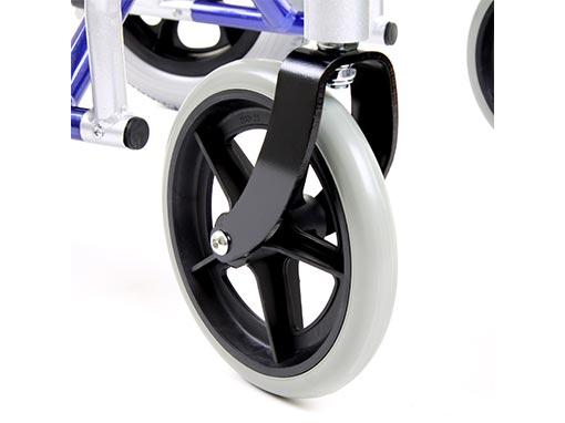 Aluminium Traveller Wheelchair side image