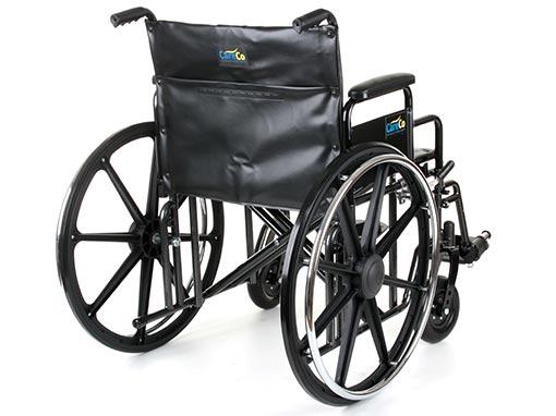 CareCo Explorer Bariatric Wheelchair Folded