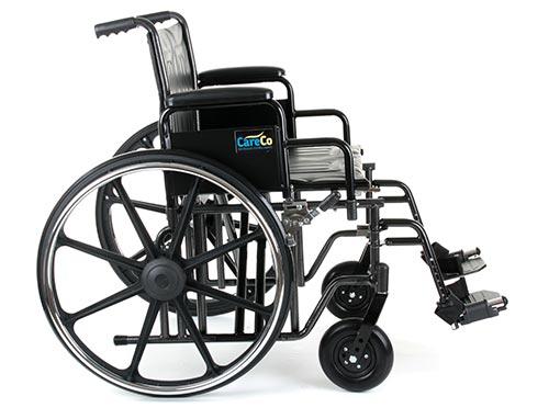 Explorer Bariatric Wheelchair Folded Back