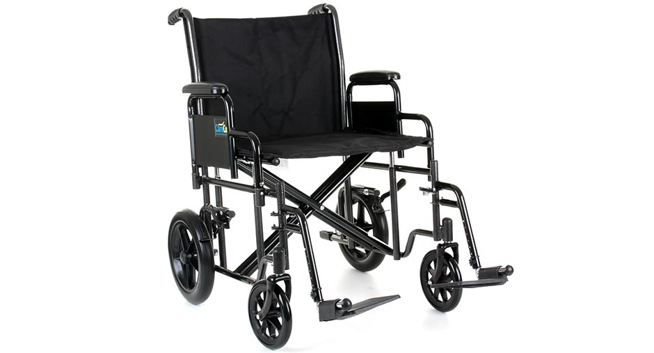 Voyager Heavy Duty Transport Wheelchair