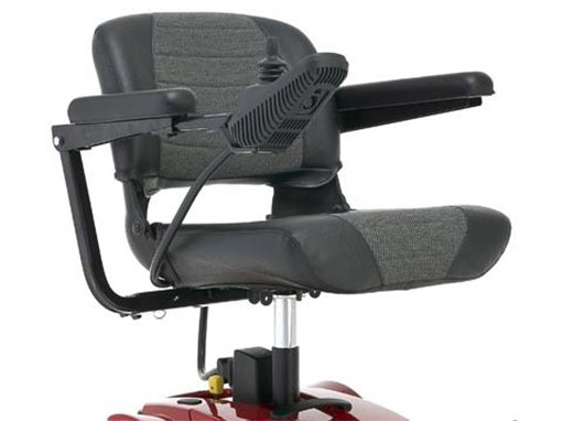 Pride Go Electric Wheelchair side image