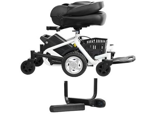 Travelux Quest Electric Wheelchair Apart