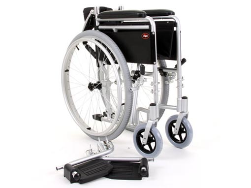 Enigma Lightweight Wheelchair front image