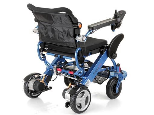 Foldalite Electric Wheelchair side image