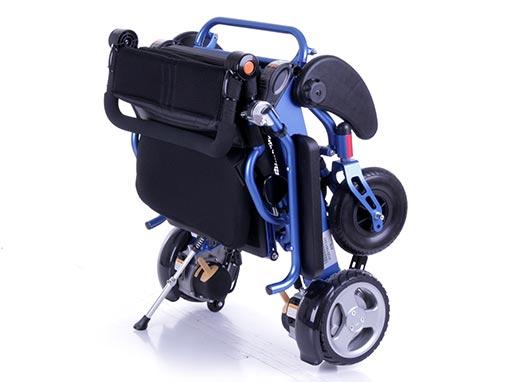 Foldalite Electric Wheelchair Folded